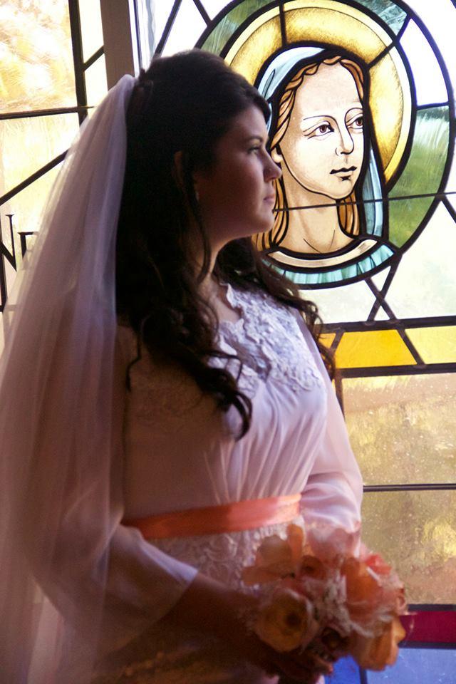 Bride Pensive